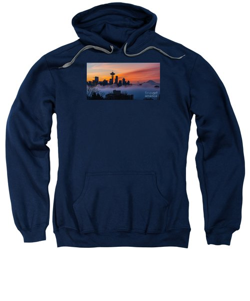 A City Emerges Sweatshirt by Mike Reid