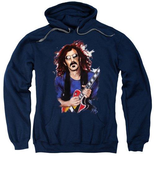 Frank Zappa Sweatshirt by Melanie D