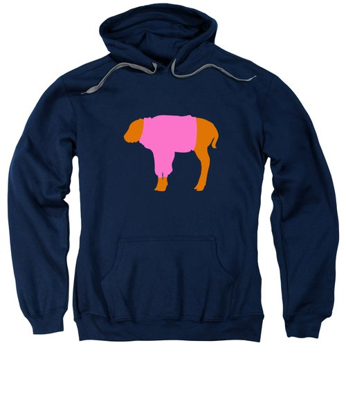 The Bison Calf Looked Cold Sweatshirt by Max Waugh