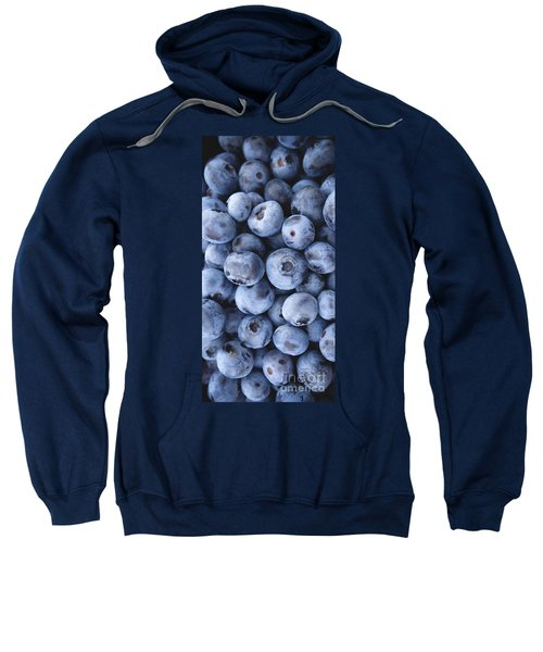 Blueberries Foodie Phone Case Sweatshirt by Edward Fielding