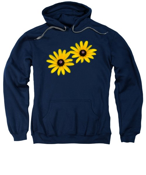 Double Daisies Sweatshirt by Christina Rollo