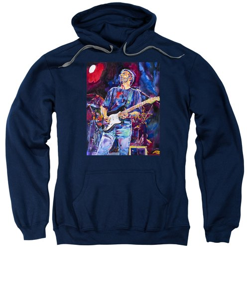 Eric Clapton And Blackie Sweatshirt by David Lloyd Glover