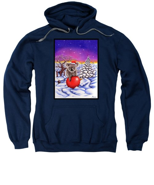 Koala On Ball Sweatshirt by Remrov