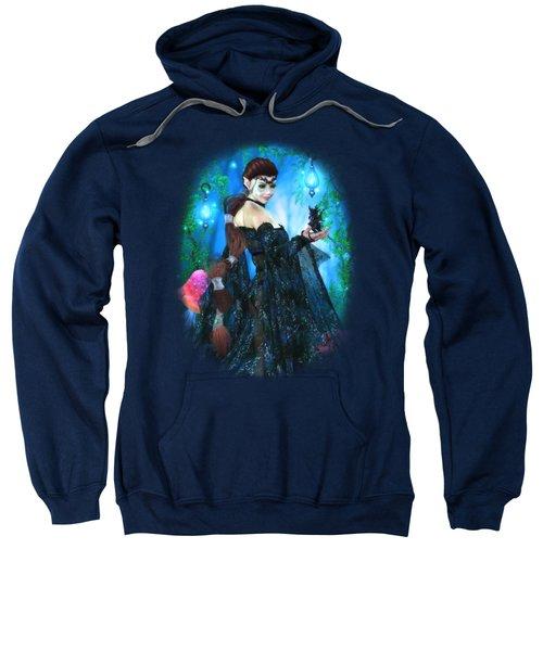 Lady Of The Dragon Fae Sweatshirt by Brandy Thomas