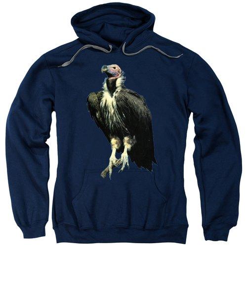 Lappet Face Vulture Sweatshirt by Teresa  Peterson