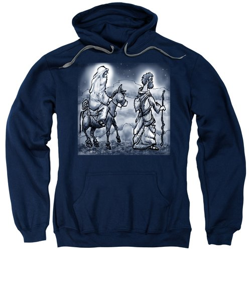 Mary And Joseph  Sweatshirt by Kevin Middleton