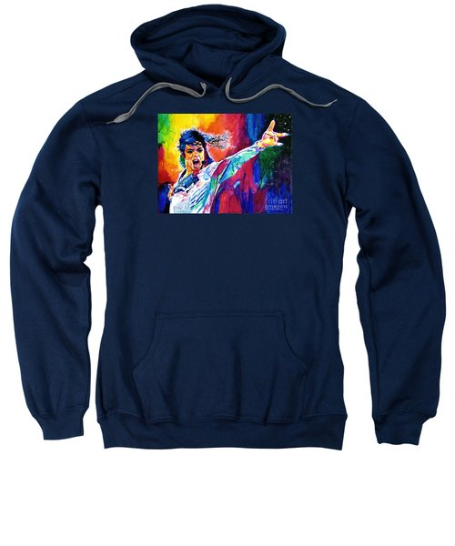 Michael Jackson Force Sweatshirt by David Lloyd Glover