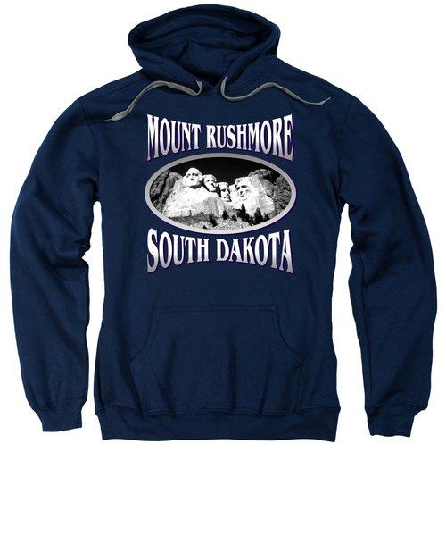 Mount Rushmore South Dakota - Tshirt Design Sweatshirt by Art America Online Gallery