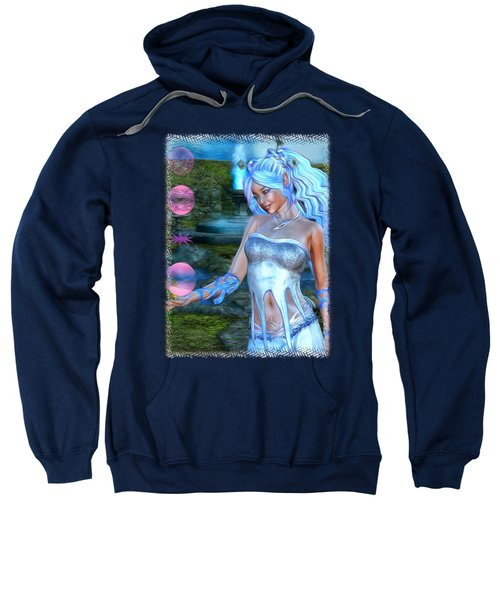 Mysticals Lake Sweatshirt by Sharon and Renee Lozen
