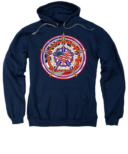 Patriotic For You America Where It Loud And Proud Sweatshirt by Bill Campitelle
