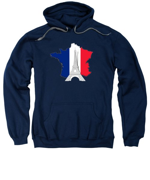 Pray For Paris Sweatshirt by Bedros Awak