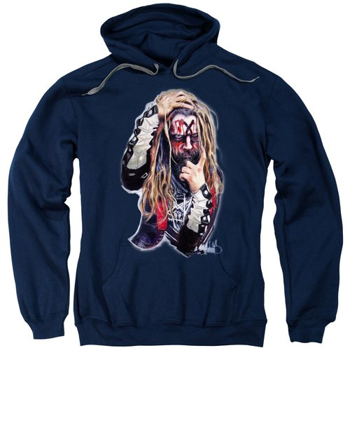 Rob Zombie Sweatshirt by Melanie D