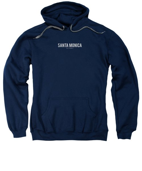 Santa Monica California Sweatshirt by Sean McDunn