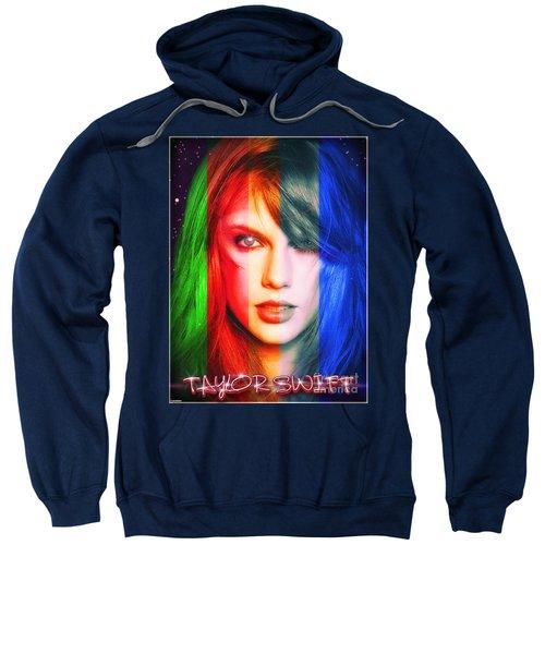 Taylor Swift - Sparks Sweatshirt by Robert Radmore
