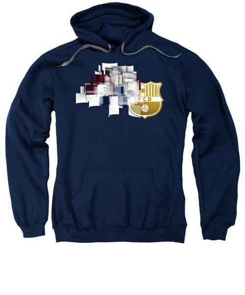 Tribute To Fc Barcelona 6 Sweatshirt by Alberto RuiZ