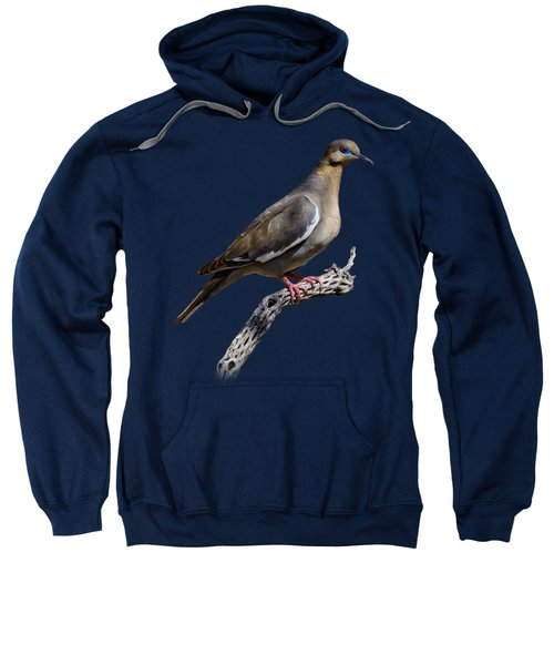 White-winged Dove V53 Sweatshirt by Mark Myhaver