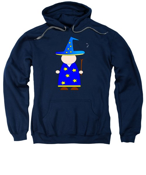 Wizard #2 Sweatshirt by Frederick Holiday