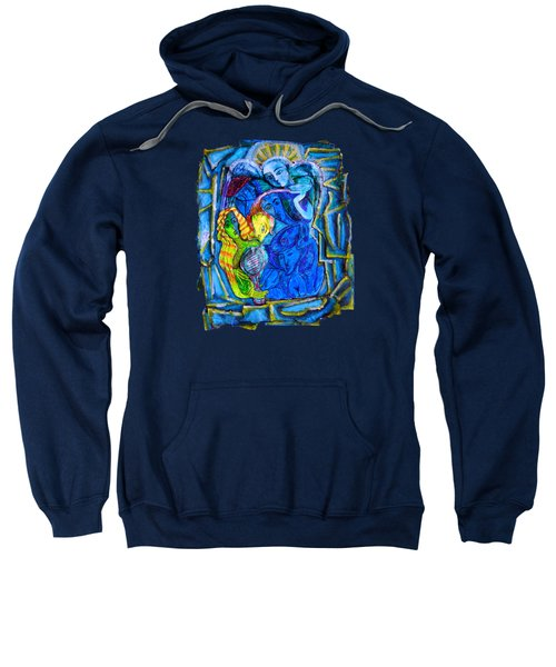 Yeti And The Mermaid Series I Don't You See? Sweatshirt by Joanna Whitney