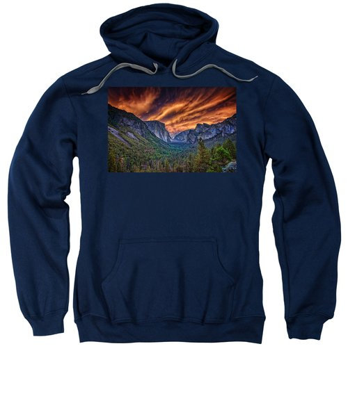 Yosemite Fire Sweatshirt by Rick Berk