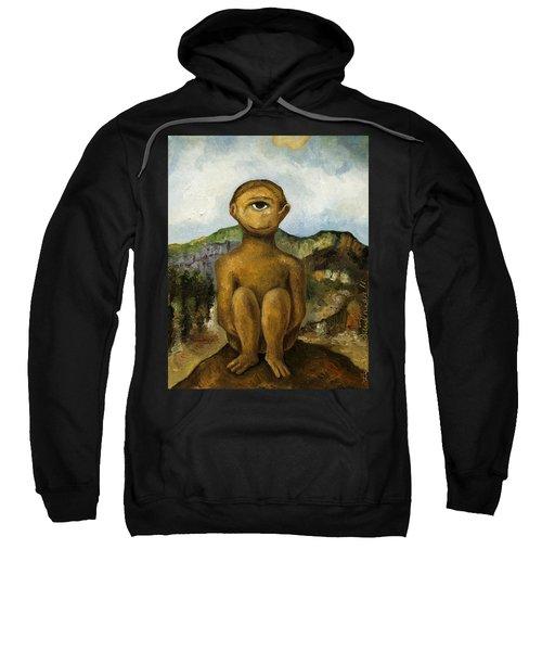 Cyclops Sweatshirt by Leah Saulnier The Painting Maniac