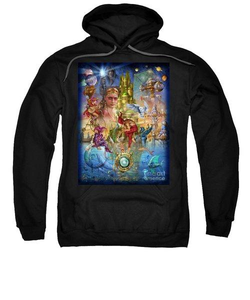 Fantasy Island Sweatshirt by Ciro Marchetti
