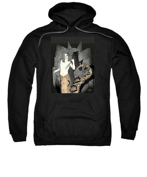 Gorgon Medusa  Sweatshirt by Quim Abella