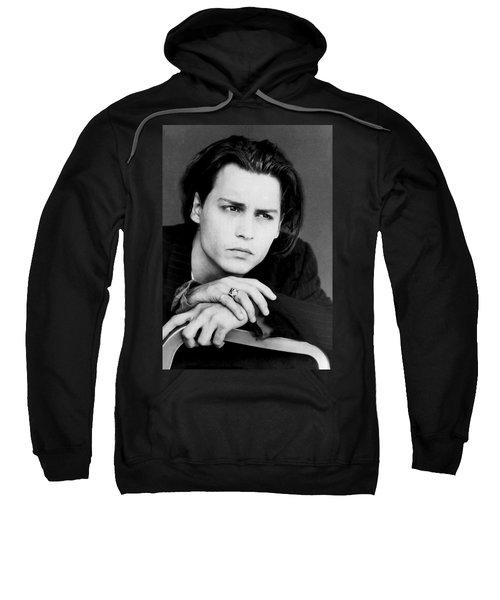 Johnny Depp Sweatshirt by Karon Melillo DeVega