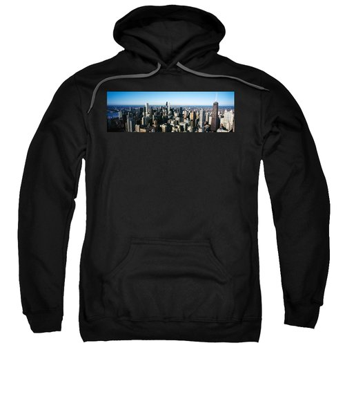 Skyscrapers In A City, Hancock Sweatshirt by Panoramic Images