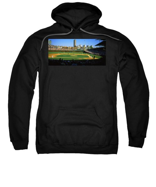 Spectators In A Stadium, Wrigley Field Sweatshirt by Panoramic Images