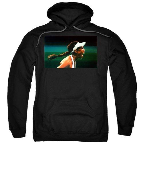 Venus Williams Sweatshirt by Paul Meijering