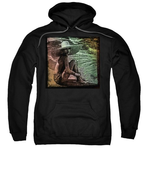 Rihanna Sweatshirt by Svelby Art