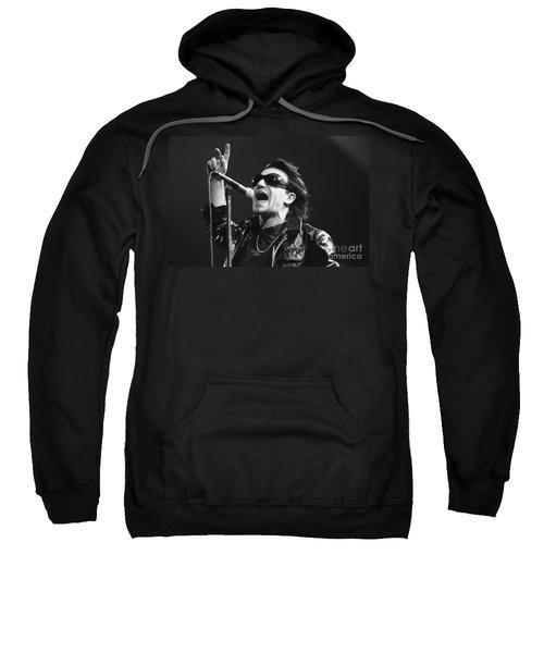 U2 - Bono Sweatshirt by Concert Photos