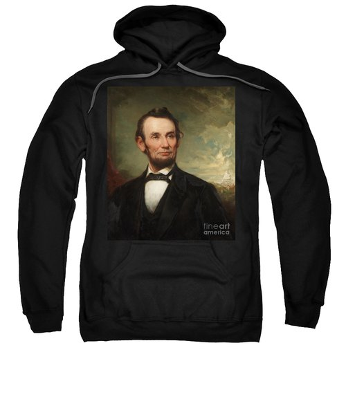 Abraham Lincoln  Sweatshirt by George Henry Story