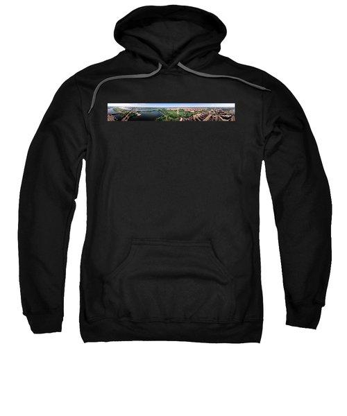 Aerial Washington Dc Usa Sweatshirt by Panoramic Images