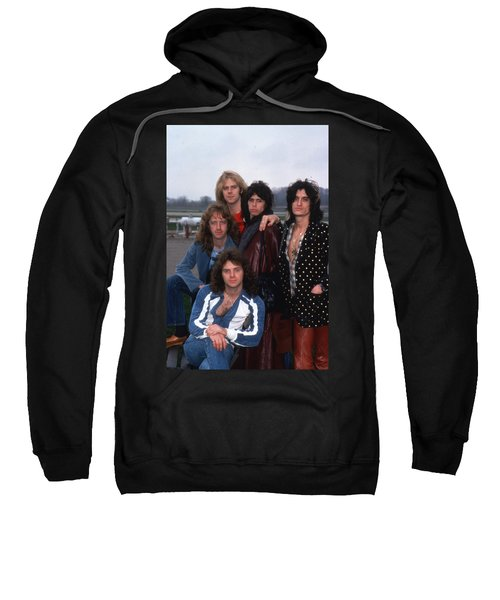 Aerosmith - Terre Haute 1977 Sweatshirt by Epic Rights