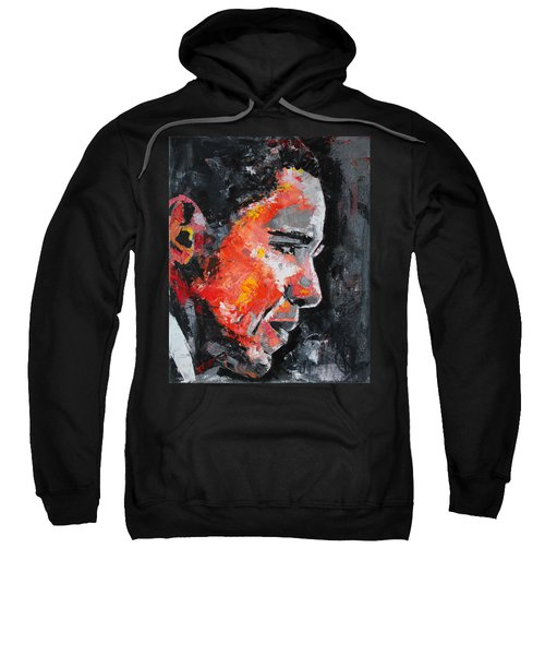 Barack Obama Sweatshirt by Richard Day