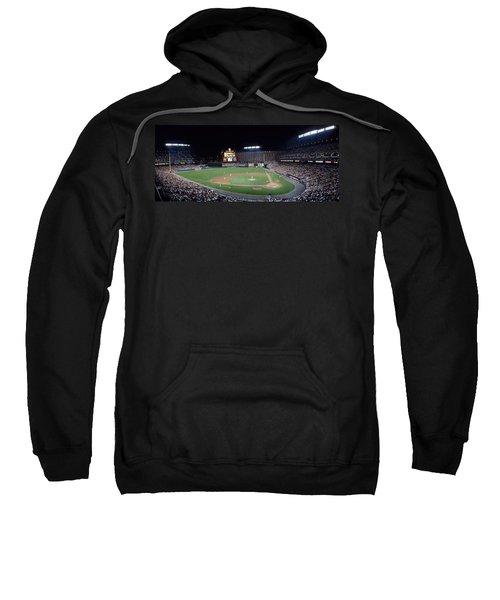 Baseball Game Camden Yards Baltimore Md Sweatshirt by Panoramic Images