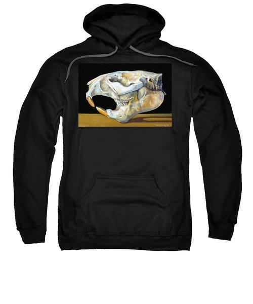 Beaver Skull 1 Sweatshirt by Catherine Twomey