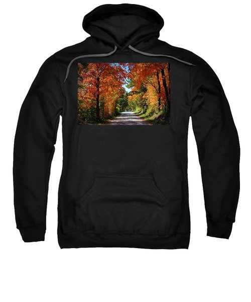 Blaze Of Glory Sweatshirt by Cricket Hackmann