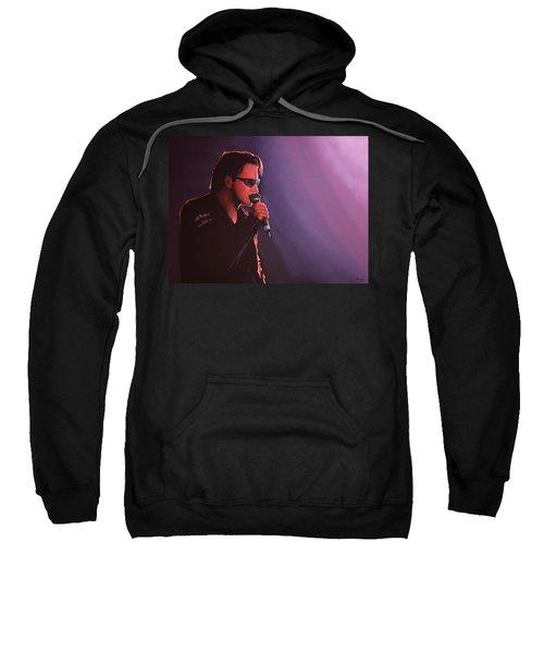 Bono U2 Sweatshirt by Paul Meijering