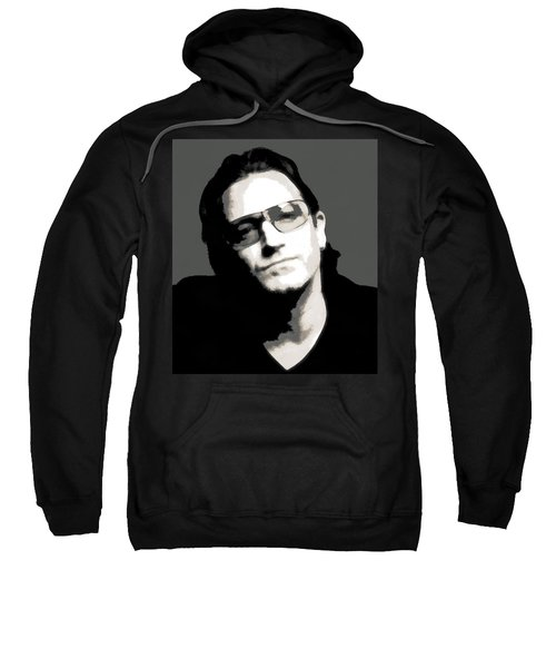 Bono Poster Sweatshirt by Dan Sproul