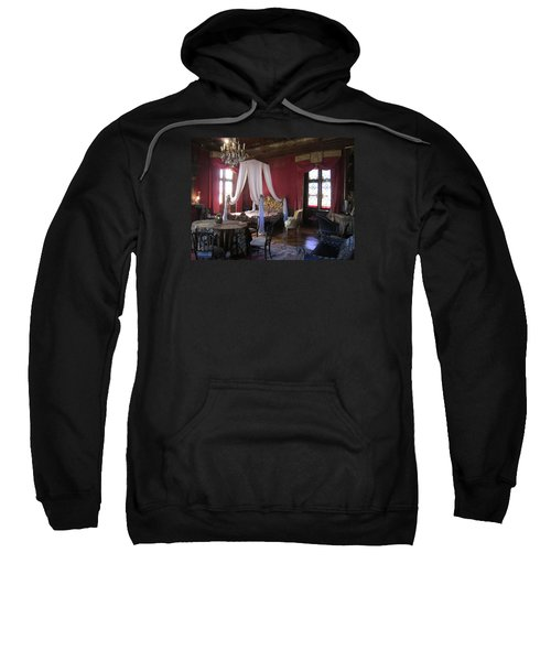Sweatshirt featuring the photograph Chateau De Cormatin by Travel Pics