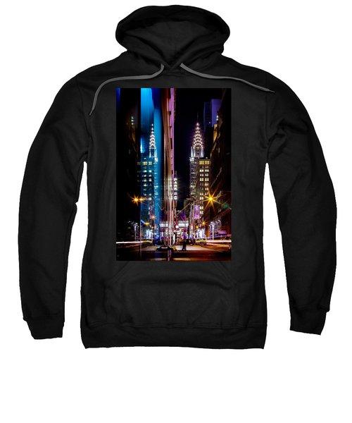 Color Of Manhattan Sweatshirt by Az Jackson