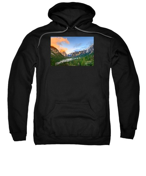 Colors Of Yosemite Sweatshirt by Jamie Pham