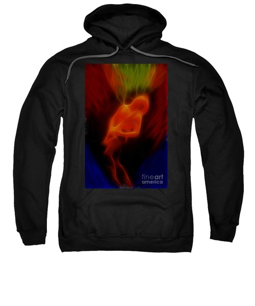 Def Leppard-adrenalize-gc13-phil-fractal Sweatshirt by Gary Gingrich Galleries
