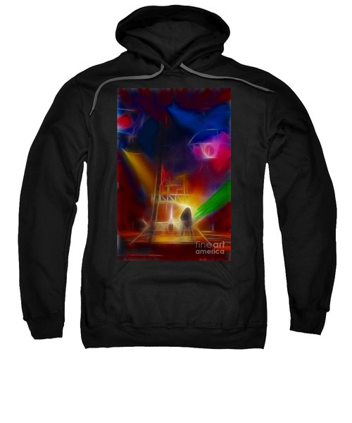 Def Leppard-adrenalize-gf10-fractal Sweatshirt by Gary Gingrich Galleries