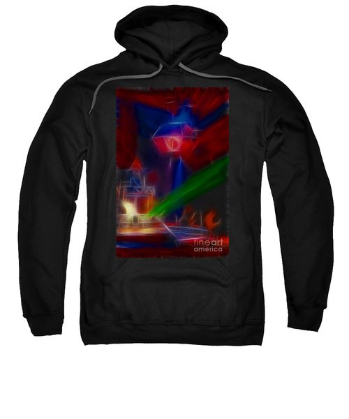 Def Leppard-adrenalize-gf12-fractal Sweatshirt by Gary Gingrich Galleries
