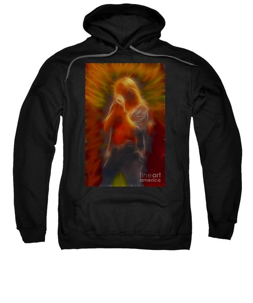 Def Leppard-adrenalize-joe-gb20-fractal Sweatshirt by Gary Gingrich Galleries