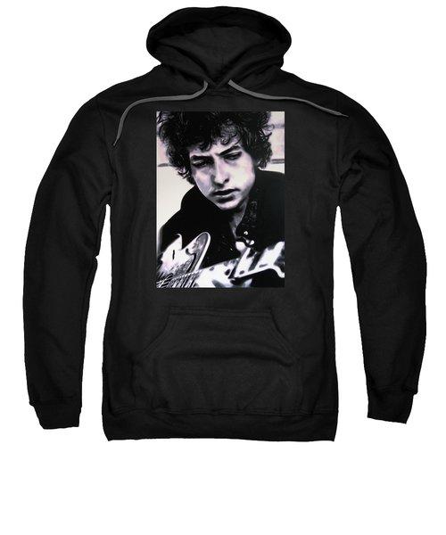 Dont Think Twice Its Alright  Sweatshirt by Luis Ludzska