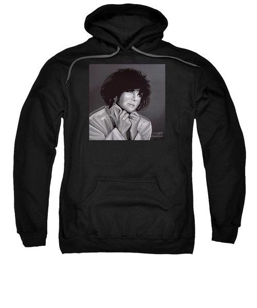 Elizabeth Taylor Sweatshirt by Paul Meijering